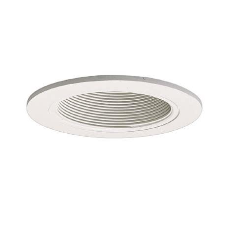 4 inch recessed light baffle trim halo coilex 4 in white baffle recessed ceiling light trim