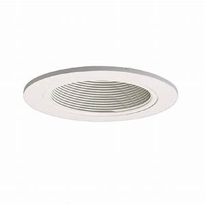 Halo lighting coilex in white baffle recessed ceiling