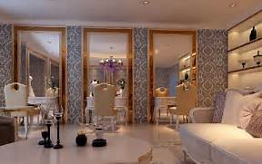 High End Contemporary Interior Design Decoration Ideas High End Hair Salon Interior Design