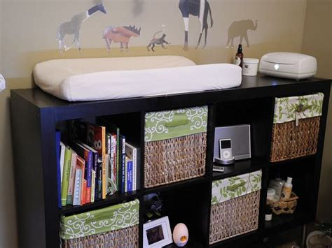 changing table organization ideas change table idea and cloth diaper storage kids