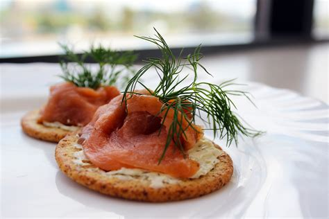 easy smoked salmon canapes estate open house snack recipes salmon canapés