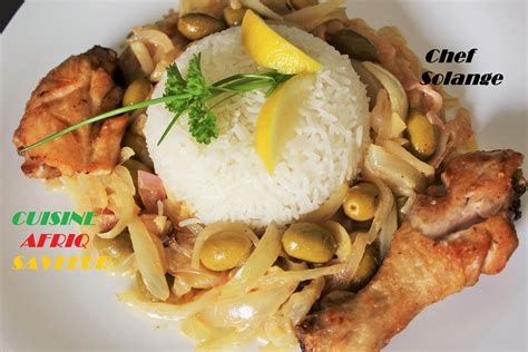 cuisine poulet poulet yassa cuisine africaine