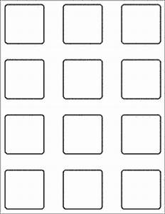 Supertab viewables blank label template party for 2x2 label template