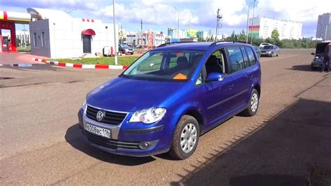Vw Touran Verkaufsinserat by 2007 Volkswagen Touran Start Up Engine And In Depth