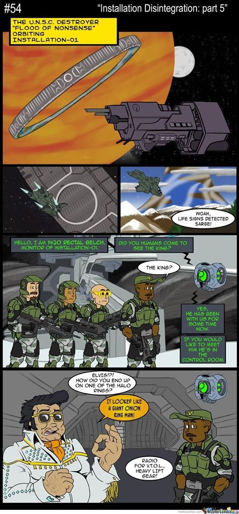 Halo 5 Memes - destruction of the halo rings 5 by masterslayer99 meme center