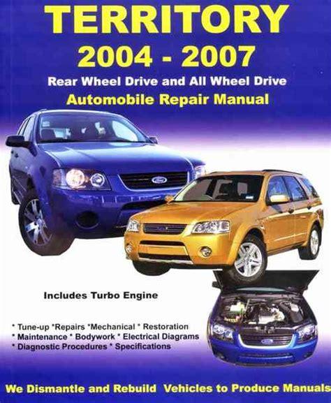 ford territory sx  sy   repair manual  max