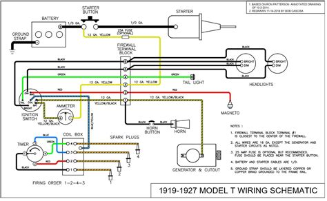1928 Ford Model A Wiring by Ford Model A Wiring Machine Repair Manual