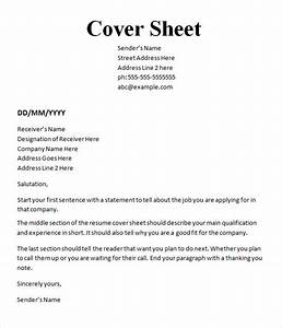 essay cover letters With free cover sheet template for resume