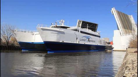 lake express ferry move  milwaukee winter berth
