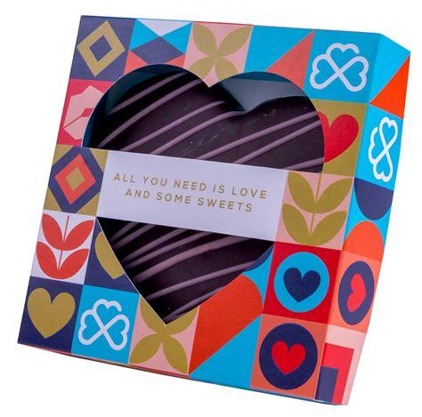 Marcipāna sirds tumšajā šokolādē kastītē | Skrīveru Saldumi