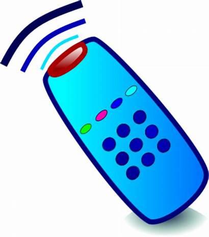 Remote Control Clipart Clip Vector Device Wireless