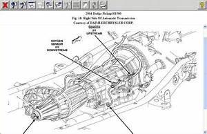 2004 dodge ram o2 sensor location where is bank2 sensor 2 With dodge ram 1500 transmission on 2003 dodge ram exhaust diagram