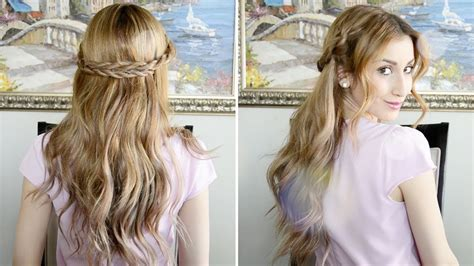 Romantic Rope Braided Hairstyle