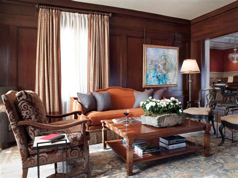 wood living room photos hgtv