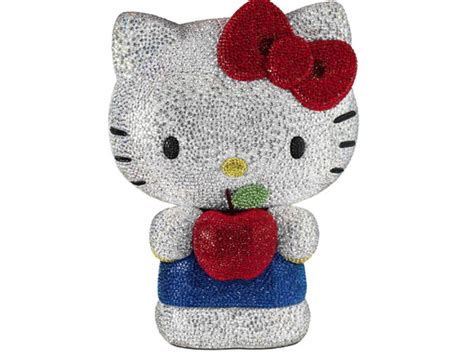 crystals bling    kitty swarovski model