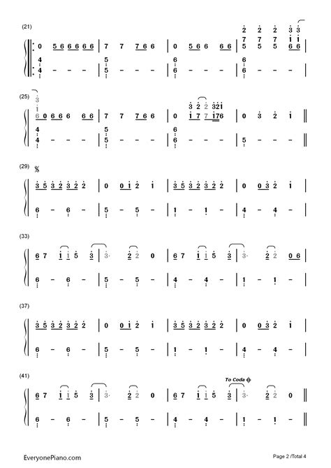 pianika all of me stitches shawn mendes numbered musical notation preview 2 free piano sheet piano chords