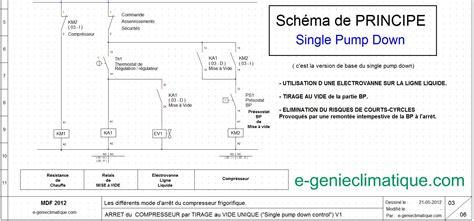 principe de fonctionnement d une chambre froide froid13 schéma électrique arrêt compresseur single