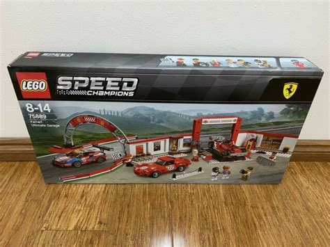 See current value on brickeconomy.com. LEGO Speed Champions Ferrari Ultimate Garage 2018 (75889) for sale online | eBay
