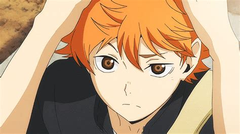 anime characters  orange hair male gif