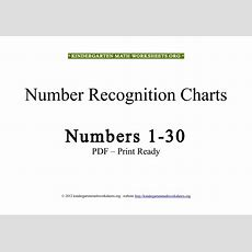 Free Kindergarten Math Worksheets Numbers In Pdf  Kindergarten Math Worksheets Org