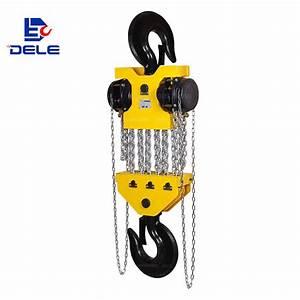 China 30t High Quality Chain Block Chain Hoist