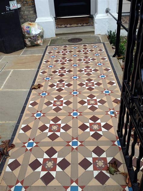 victorian  edwardian mosaic tile path london london