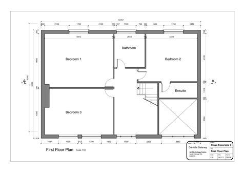 Drawing2layout2  First Floor Plan 2  Danielleddesigns