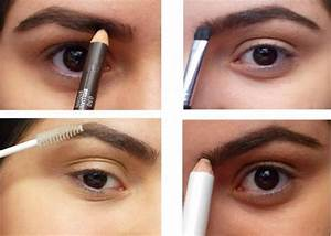 Augenbrauen Formen Und Ausmalen