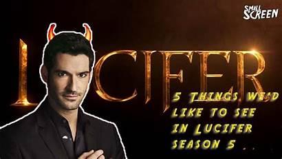 Lucifer Season Things