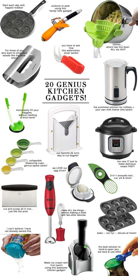 Kitchen Gadgets 20 by 20 Genius Useful Kitchen Tools Best Of The Modern