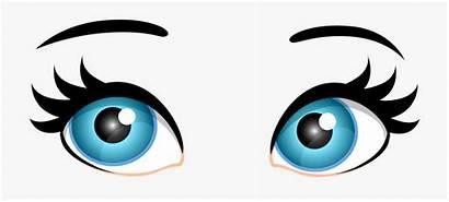 Eyes Clip Clipart Female Eye Transparent Cartoon