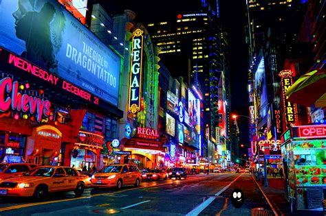 time square lighting buggy and glizy 42nd by thebuggynater on deviantart