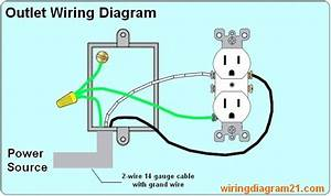 2wire Electrical Outlet Wiring Diagram