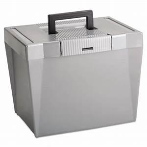 printer With plastic letter file box