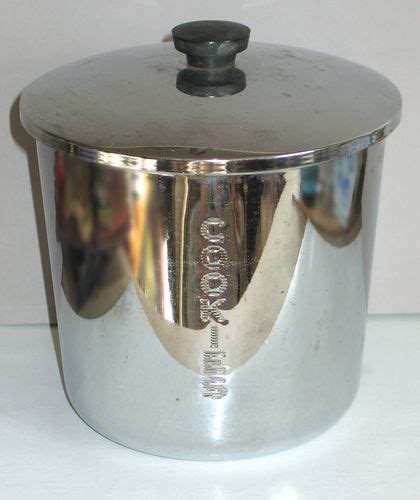 Kitchen Jars Ebay by Vintage Everedy Classic Chrome Cookie Jar Kitchen Canister