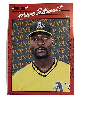 Maybe you would like to learn more about one of these? 1990 Donruss #BC-3 Dave Stewart A'S MVP baseball card NM/MT Buy 4 Get 1 Free! | eBay