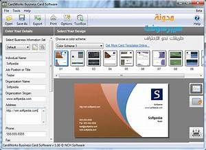 Cardworks business card for Business card design software free download full version