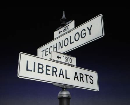 intersection  technology  liberal arts