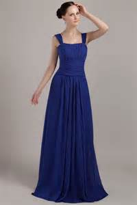 bridesmaid dresses in royal blue square neckline bridesmaid dress with nany blue skirt