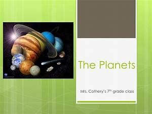 Solar System PPT 7th Grade - Pics about space