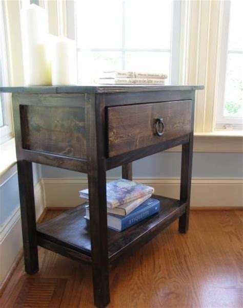 night stand plans  build woodworking projects plans