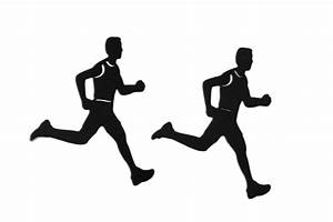 Runners Silhouette - ClipArt Best