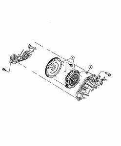 2009 Jeep Patriot Clutch Kit  Used For  Pressure Plate And