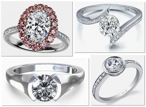 Style Modern Setting by Modern Engagement Rings It S Not Revolt Against