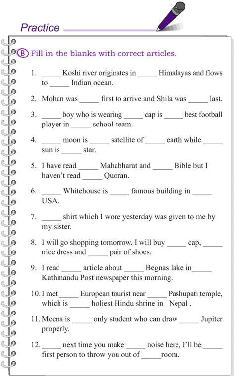 grade 4 grammar lesson 12 articles 5 grade 4 grammar lessons 1 20 pinterest grammar