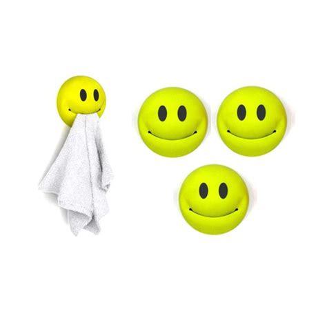 accessoires de cuisine originaux porte torchons smiley vendu par 3
