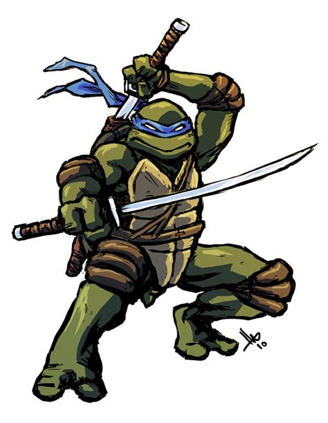 TMNT Leonardo by hugohugo on DeviantArt
