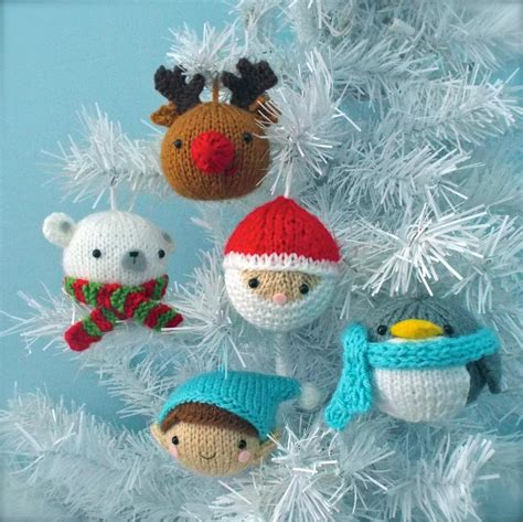 christmas decoration knitting pattern ideas christmas