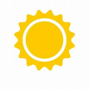 Sunny Icon - Android Weather Icons - SoftIcons.com