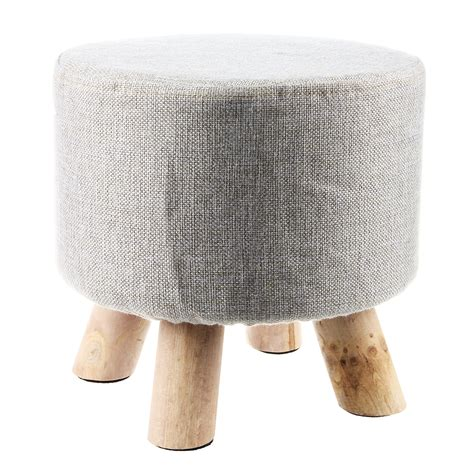 Cheap Fabric Ottomans by 15 Collection Of Fabric Footstools And Pouffes Sofa Ideas